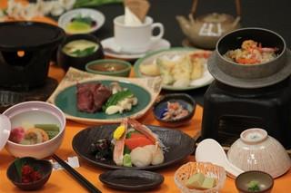 ご夕食はオホーツク釜飯御膳・2食付きプラン(H29/12客室リニューアル)