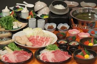 ご夕食は道産黒毛和牛しゃぶしゃぶ会席コース・2食付きプラン(H29/12客室リニューアル)