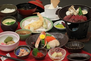 ご夕食はオホーツク御膳・2食付きプラン(H29/12客室リニューアル)