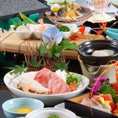 【料理長厳選会席】プリップリの伊勢海老姿造りと幻の魚と呼ばれているクエを食す♪◆2食付き