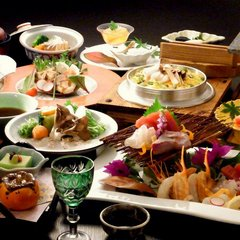 【スタンダード】夕食は四季を楽しむ会席料理をご堪能♪客室露天風呂でゆったりと・・◆2食付き