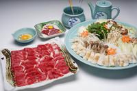 さくら肉取り扱いはじめました本場熊本から「さくら肉のすきしゃぶ&馬刺し」堪能コース