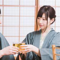 【カップル】ゆったり広々貸切風呂♪女性にうれしい色浴衣付き☆(1日2組限定)