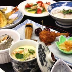【ボリューム満点の和食膳】旬味覚堪能♪2食付プラン