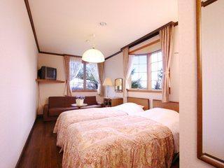 トリプルのベッドルーム