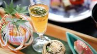 【夕食スタンダード】鎌倉産サザエの特典付き!夕食は和食「季節の会席料理」(夕朝食付)
