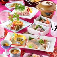 ☆特典付き☆総料理長のお勧め絢爛豪華懐石料理プラン!!!