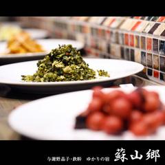 【春夏旅セール】絶品!地元の食を愉しむ朝ごはん。蘇山郷の一泊朝食付きプラン