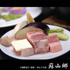 【現金特価】「露天風呂付客室に泊まる」阿蘇の恵みプラン/個室食