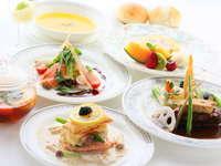 【食通に大人気!】自慢の季節の創作料理フルコース堪能グルメプラン♪