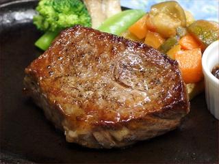 キロサ牛サーロインステーキプラン★赤身とサシのバランス◎美味しいお肉が食べたい!【ペット同伴可】