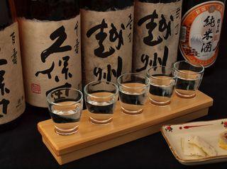 お酒好き必見!!銘酒「久保田」が楽しめる★利き酒プラン
