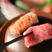 【贅沢会席コース】石焼き信州プレミアム牛を生わさびで■香る蕎麦と旬の味 信州満喫プラン