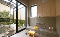【別館】広々とした岩づくりの源泉掛け流し客室露天風呂を満喫 〜素泊まりプラン