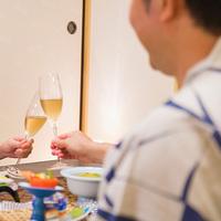 ★彼女半額★■カップル応援■〜アワビ&鯛の食べ比べ〜<個室食&3大特典>お手ごろ和室でまったり
