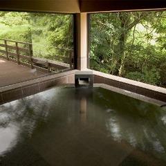 全室離れ・専用客室半露天風呂付き『2食付スタンダートプラン』 源泉かけ流し温泉を堪能!