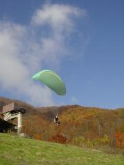 New!【夏得】パラグラーダーで空中散歩を体験!1泊2食付♪