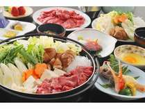お腹満腹★ 牛肉すき焼き 90分 食べ放題プラン★