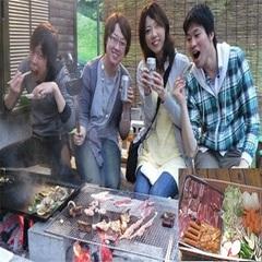 【期間限定・春のスペシャル】お得なエコプラン【朝食付】+【夕食BBQ】+1dayラフティングツアー