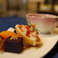 シェフおまかせ 信州フレンチフルコース〜信州ポークのフィレ肉、信州サーモンのコンフィ