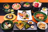 【GOTO対象】雅:料理長厳選プランを あますことなく堪能。1泊2食付
