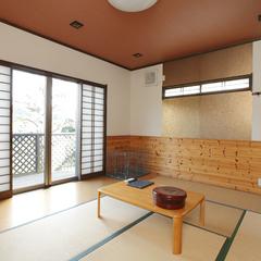 ■ペット連れ専用コテージ・和室8畳(トイレ付)