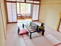 【さき楽】『 桜色の和室 』 スタンダードプラン  一泊2食付き ≪現金特価≫