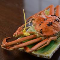 ≪かに三昧≫カニ刺し・ゆでがに・焼蟹などカニ料理8品付きの満足コース(30)