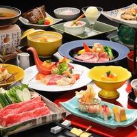 ■淡雪-Awayuki-冬■山形牛すき鍋・ジャンボマッシュルーム香味焼に舌鼓♪【部屋食スタンダード】
