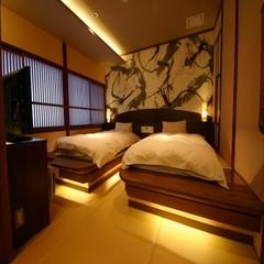 「本館客室まなご」 ツインベットルーム和洋室のお部屋