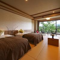別邸「峰の界」和室ベッドタイプ(バスルーム付)【禁煙】