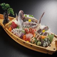 【☆舟盛付☆海の幸会席プラン】きっときとな鮮魚盛り沢山!富山を堪能☆舟盛プラン