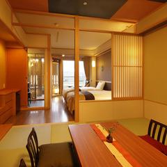 スタンダードなお料理「海の幸旬会席」で泊まる露付・和洋室■誰にも邪魔されないプライベート空間を満喫♪