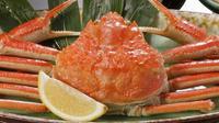お食事処でさらにお得【GoToトラベル一時停止期間直前割】ずわい蟹付会席をGoTo同額の35%OFF