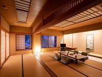 【禁煙】東の荘/広々和室【60平米/本間12畳+次の間6畳】