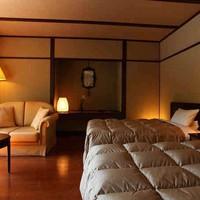 【禁煙】昭和館バリアフリールーム◇洋室ツインルーム40平米