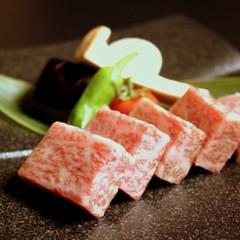 【ステーキ会席プラン】信州プレミアム牛のロースを石焼で◆お供に野菜の蒸籠蒸
