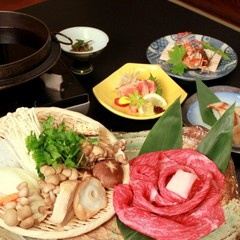 【すき焼きプラン】信州が誇るプレミアム牛◆ちょっと贅沢なすき焼きです