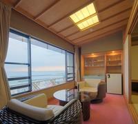 【お部屋食】海側 【特別室1間】和室12畳+広縁