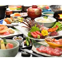 夕食グレードUP【摺上の膳】福島牛×贅沢旬の食材