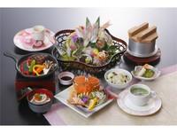 【平日限定20食】 春の彩り会席 〜春子鯛とあか牛〜