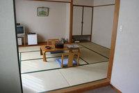 バス・トイレ付和室(8畳)禁煙(外輪山側)