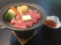 ・【別注特別料理】 福島牛陶板焼き付 1泊2食飲み放題付バイキングプラン