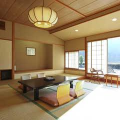【新館・清山館6階 喫煙】一番人気の広々和室10畳〜15畳