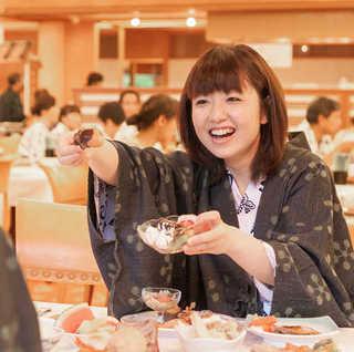 【上州牛のすき焼き付】豪華60種★食べ放題バイキングプラン《ローストビーフ・揚げたて天ぷらなど》