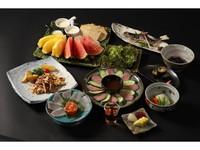 基本プラン【少食の方におすすめプラン】◆お料理品数少なめをご用意しました♪(貸切風呂無料)