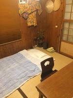 和室一室シングル【連泊】プラン[割引あり/沖縄古民家和室一室を優雅にシングル連泊]