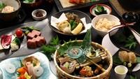 【個室でお食事】メインを選べる季節の懐石料理・スタンダードプラン