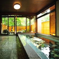 【上州和牛ステーキ会席プラン】貸切風呂無料&チェックアウト11時