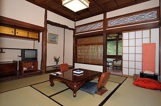 【当館人気】多くの文豪が愛した趣のある和室8畳(川端先生を訪ねた友人をこの部屋に泊めた) 1泊2食付